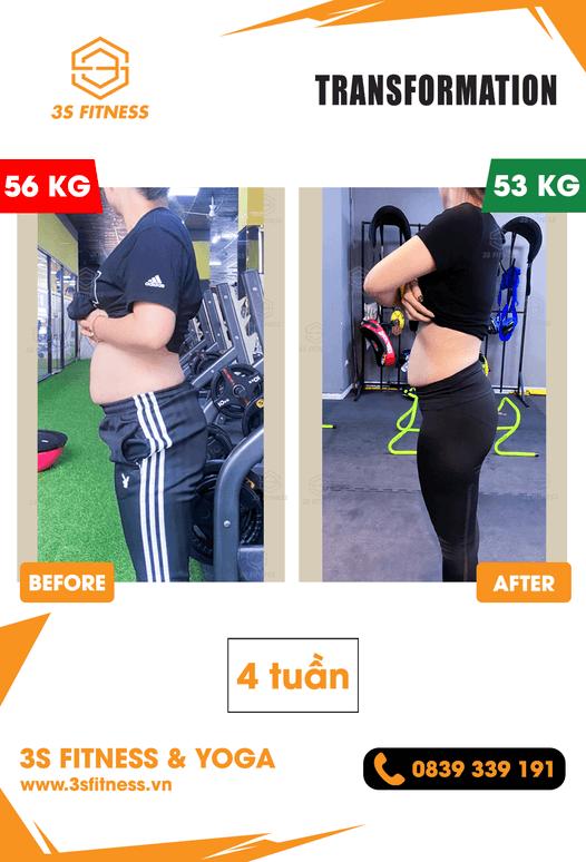 Chiến dịch thay đổi bản thân cùng 3S Fitness & Yoga Ngô Lương Ngọc